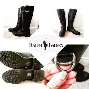 New Cond Ralph Lauren Riding 🐎 Boots